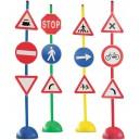 Dopravní značky - sada B